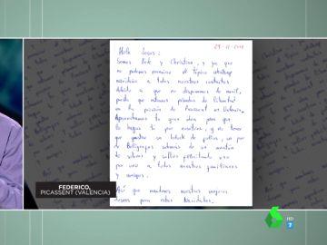 """Las emotivas cartas de Navidad de los espectadores de Zapeando: """"Deseo inclusión, igualdad e integración"""""""