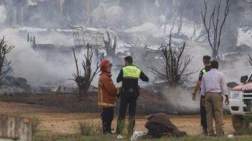 Imagen de archivo de una zona incendiada en Palos de la Frontera