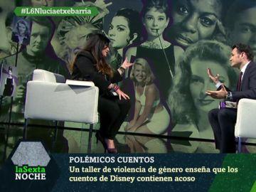 Lucía Etxebarría con Iñaki López