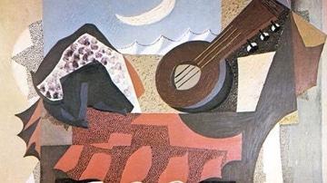 Bodegón de la mandolina, obra de Ortiz en 1926