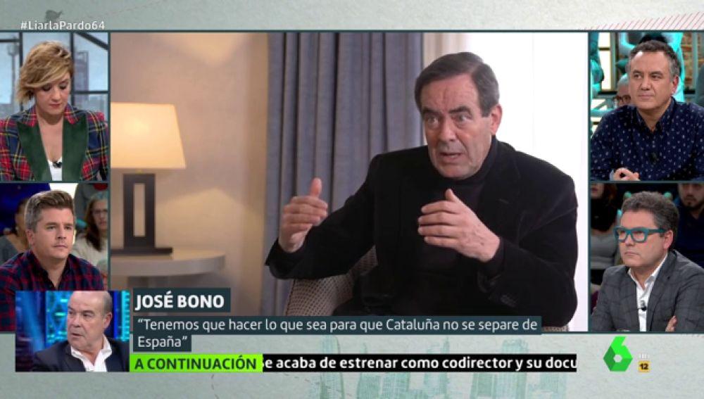El exministro de Defensa, José Bono