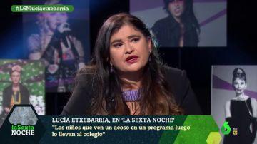 Lucía Etxebarría en laSexta Noche
