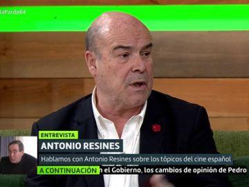 Antonio Resines desmonta los tópicos sobre el cine: ni todos son rojos, ni todas las películas son de la Guerra Civil