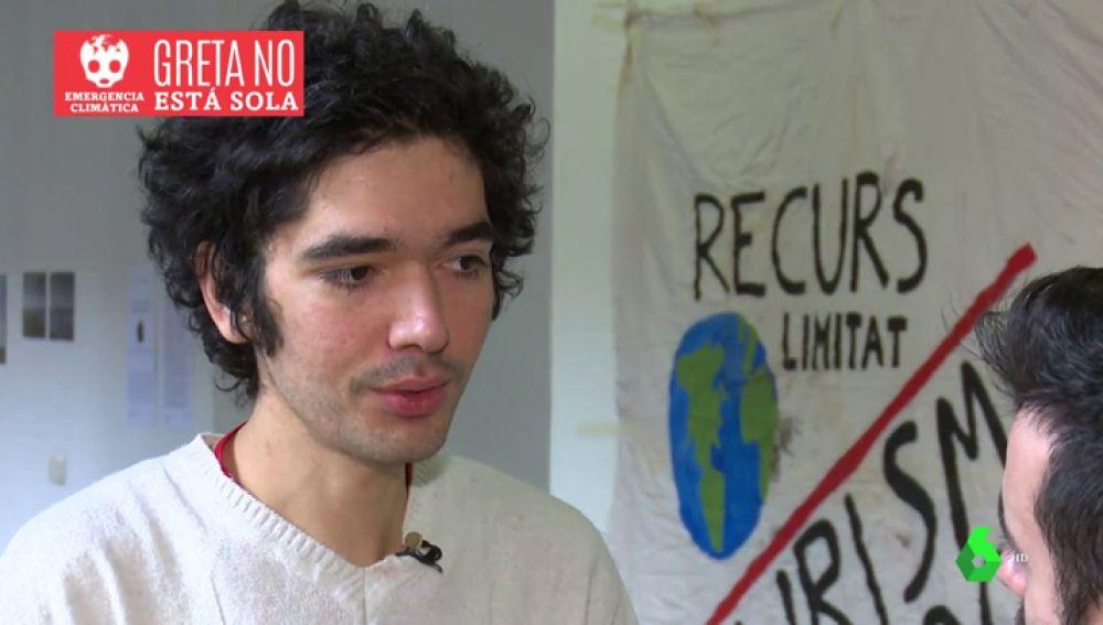 Arshak Makichyan lidera 'Fridays for future'