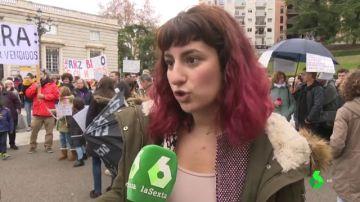 Concentración contra las operaciones inmobiliarias del Arzobispado en Madrid