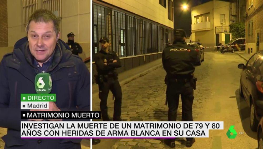 Hallan los cadáveres de un matrimonio de ancianos con profundas heridas de arma blanca en su casa de Madrid
