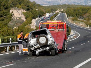 Accidente de tráfico (Archivo)