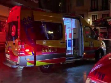 Muere un hombre atropellado por un camión de la limpieza en el centro de Madrid