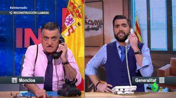"""La 'rigurosísima' reconstrucción de la llamada de Sánchez a Torra: """"Al fin has visto mis 375 perdidas"""""""