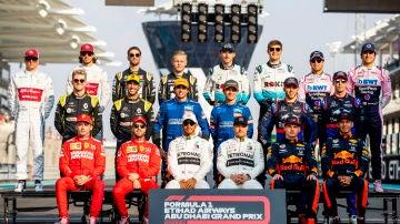 La parrilla de la Fórmula 1 2019