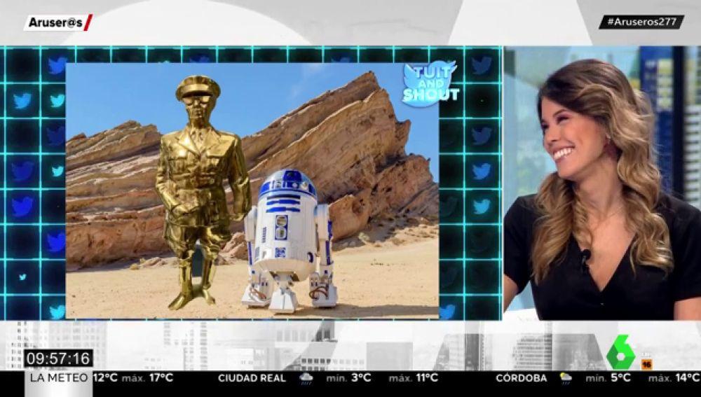 El hilarante troleo a un vendedor de Wallapop por una figura de Franco que se parece a C-3PO de Star Wars