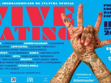 Cartel del Festival Vive Latino
