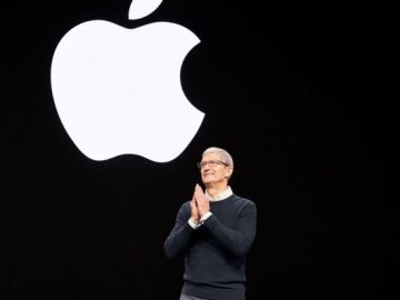 Apples keynote event Tim Cook 03252019_643x397