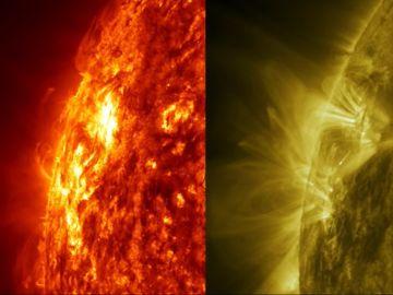 Nuevo tipo de explosión solar observada por la NASA