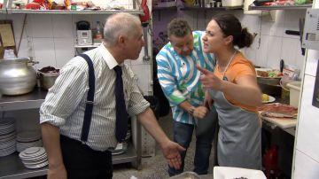 """Chicote le arranca el cuchillo a Felicia en medio de un enfrentamiento con su jefe: """"¡No puedo más! ¡Vete a la mierda!"""""""