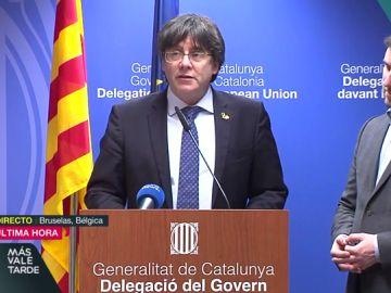 """Puigdemont, tras el fallo del TJUE: """"Hace nueve horas que Junqueras debería estar en libertad"""""""