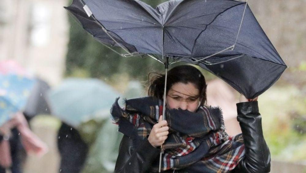 Fuertes vientos en Palencia