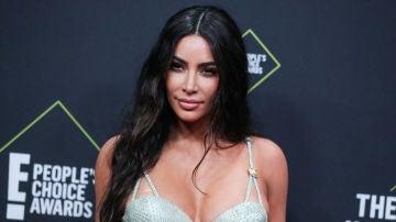 Kim Kardashian en los People's Choice Awards
