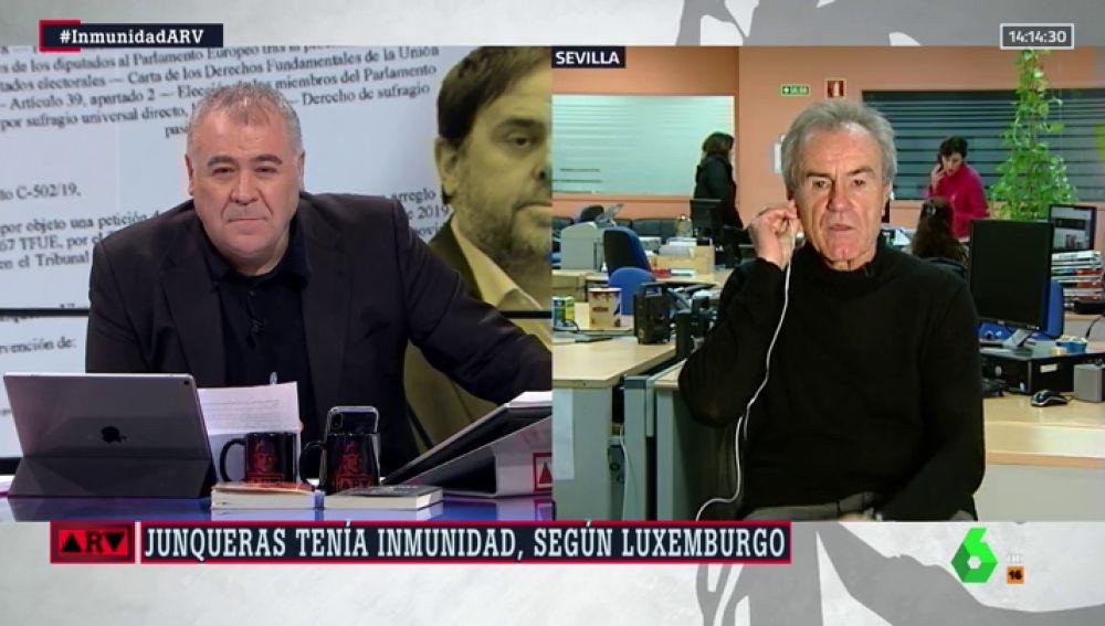 """Javier Pérez-Royo, catedrático de Derecho: """"El Supremo ha vulnerado derechos fundamentales al mantener a Junqueras en prisión"""""""
