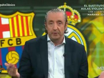 """Josep Pedrerol, tras el Clásico: """"Tsunami ha montado un show de tercera, vaya fracaso"""""""
