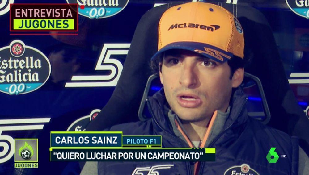 """Carlos Sainz, ambición sin límites: """"Me veo campeón del mundo"""""""