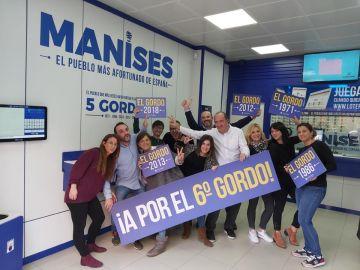 Manises Lotería, la tercera administración de loterías que más vende en España