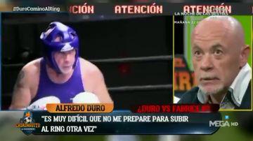 Alfredo Duro desvela su futuro como boxeador tras su estelar debut