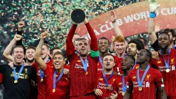 El Liverpool, campeón del mundo