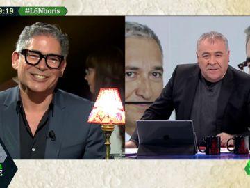 """Boris Izaguirre, a Ferreras : """"Tiene una mirada muy dulce, en el mundo gay podría ser un 'bear'"""""""