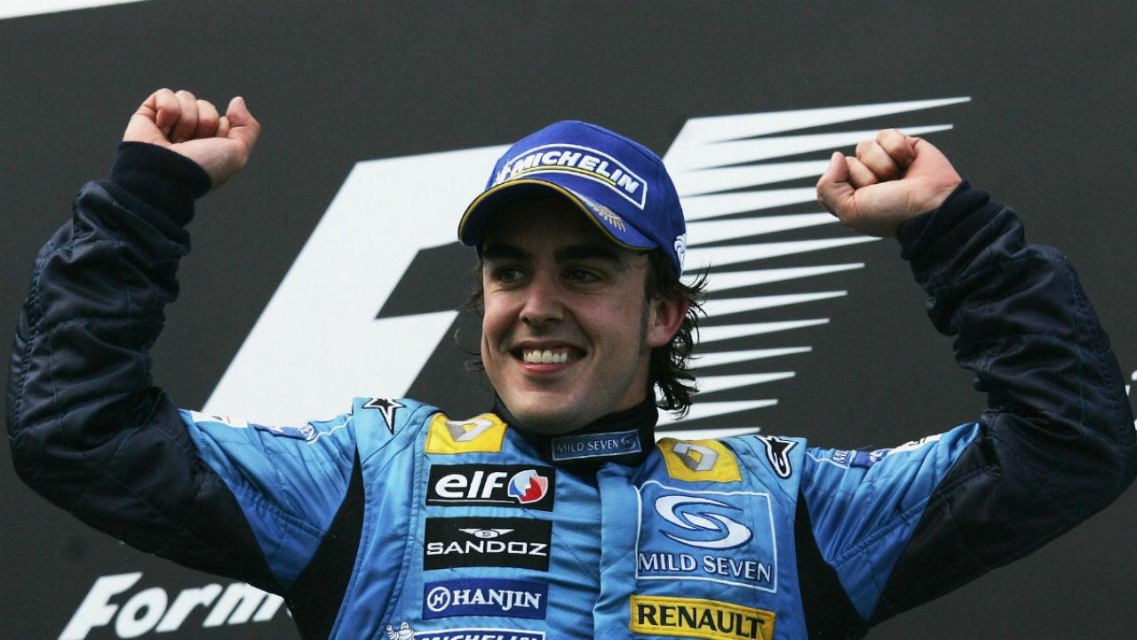 Fernando Alonso, con Renault