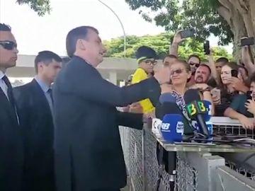 Comentario homófobo de Bolsonaro