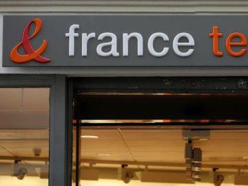 Imagen de archivo de la fachada de France Télécom.