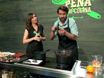 Las recetas del chef Peña: aprende a preparar un menú puramente navideño de tres platos en un minuto