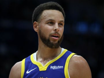 Stephen Curry, en un partido