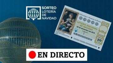 Directo laSexta | Dónde ha tocado el Gordo de la Lotería de Navidad 2019