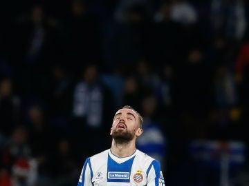 Darder, en un partido con el Espanyol
