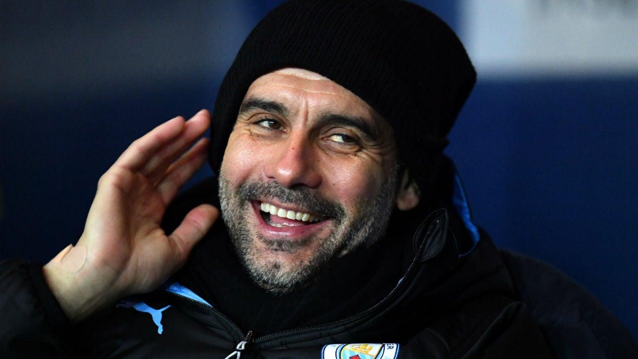 Guardiola, con el Manchester City