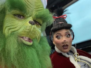 Stephen 'Grinch' Curry y su mujer