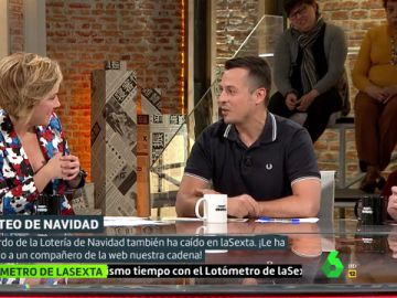 Antonio Miró, compañero de laSexta.com