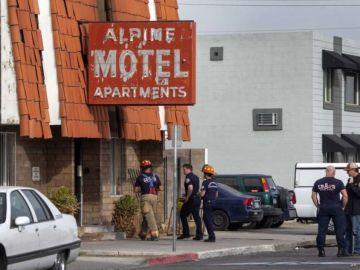 Imagen de archivo del edificio de apartamentos en los que se ha declarado el incendio.