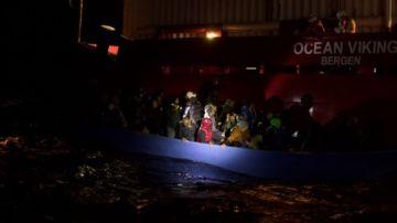Operación de rescate del Ocean Viking