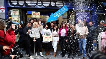 Administración de 'Doña Manolita' en Madrid