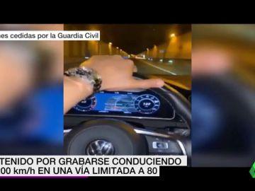 Detenido un conductor en Málaga por circular a 200 kilómetros horas en una vía limitada a 80