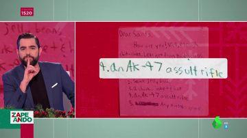 """Un 'AK-47' o 4.000 dólares: las peticiones con las que Papá Noel """"debe estar flipando"""""""