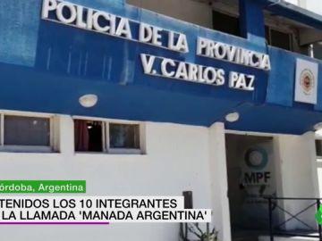 Diez detenidos en Argentina por la violación múltiple de una joven a la que apalearon y forzaron