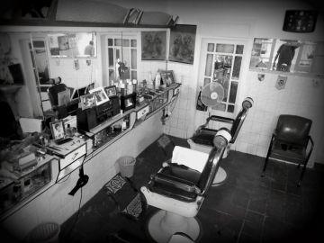 Imagen de archivo de una barbería