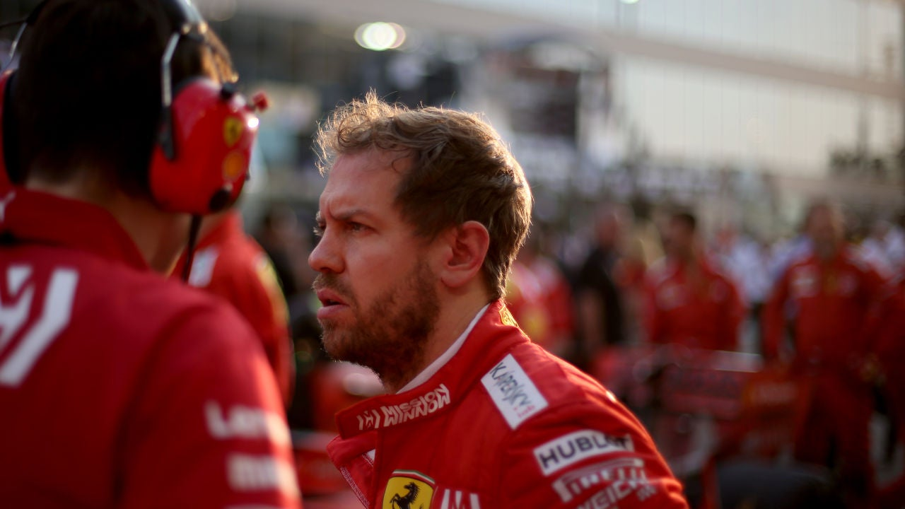 Vettel, en Abu Dabi