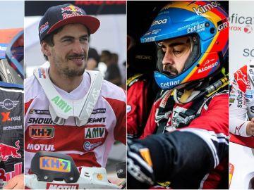 Los pilotos españoles más destacados del Dakar