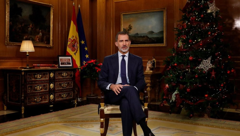 Tradicional mensaje de Navidad del rey Felipe VI