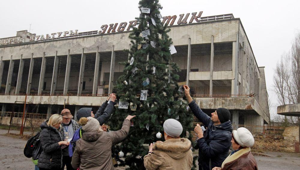 Prípiat, ciudad ucraniana a tres kilómetros de Chernóbil